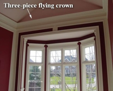 Fascinating Flying Crown Molding Ideas21