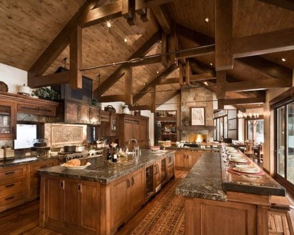Gorgeous Rustic Kitchen Design Ideas35