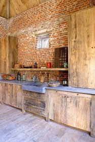 Gorgeous Rustic Kitchen Design Ideas40