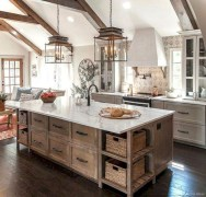 Gorgeous Rustic Kitchen Design Ideas43