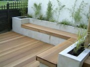 Perfect Diy Seating Incorporating Into Wall For Your Outdoor Space11