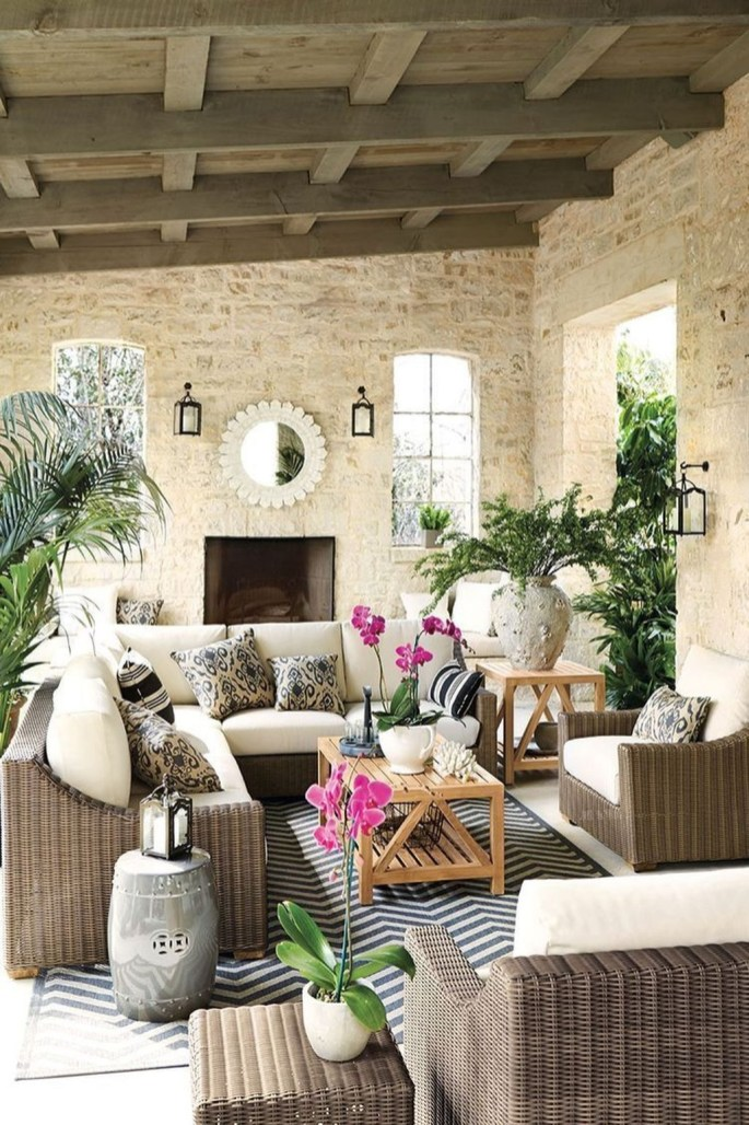 Perfect Diy Seating Incorporating Into Wall For Your Outdoor Space14