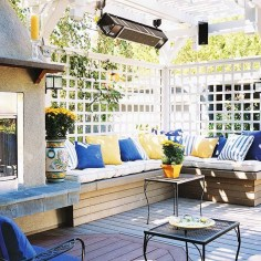 Perfect Diy Seating Incorporating Into Wall For Your Outdoor Space24