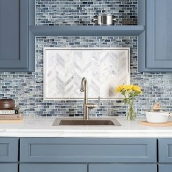 Popular Summer Kitchen Backsplash Ideas13