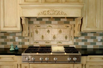 Popular Summer Kitchen Backsplash Ideas29
