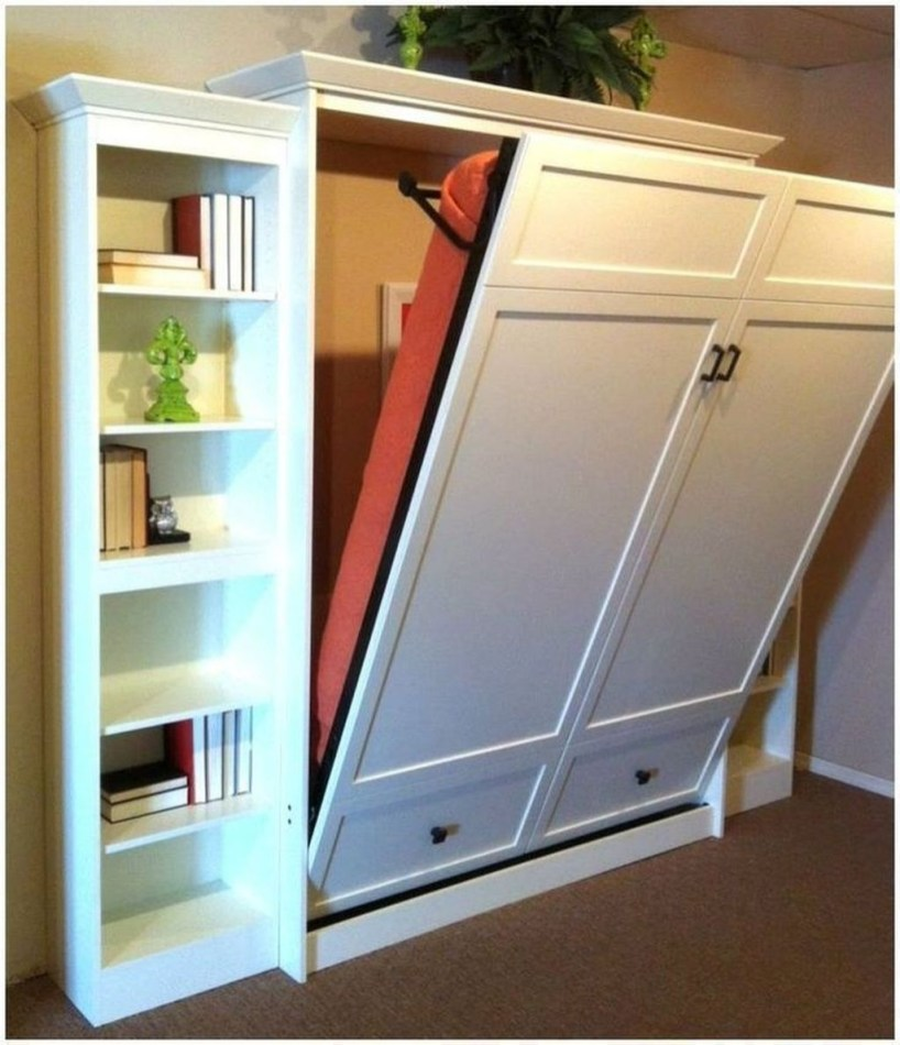 Stunning Diy Space Saving Bed Frame Design Ideas13