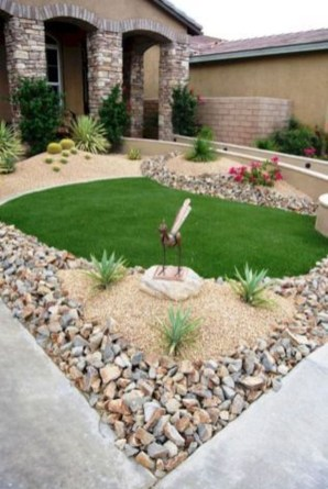 Affordable Rock Garden Landscaping Design Ideas28
