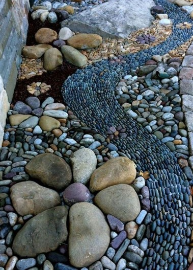 Affordable Rock Garden Landscaping Design Ideas35