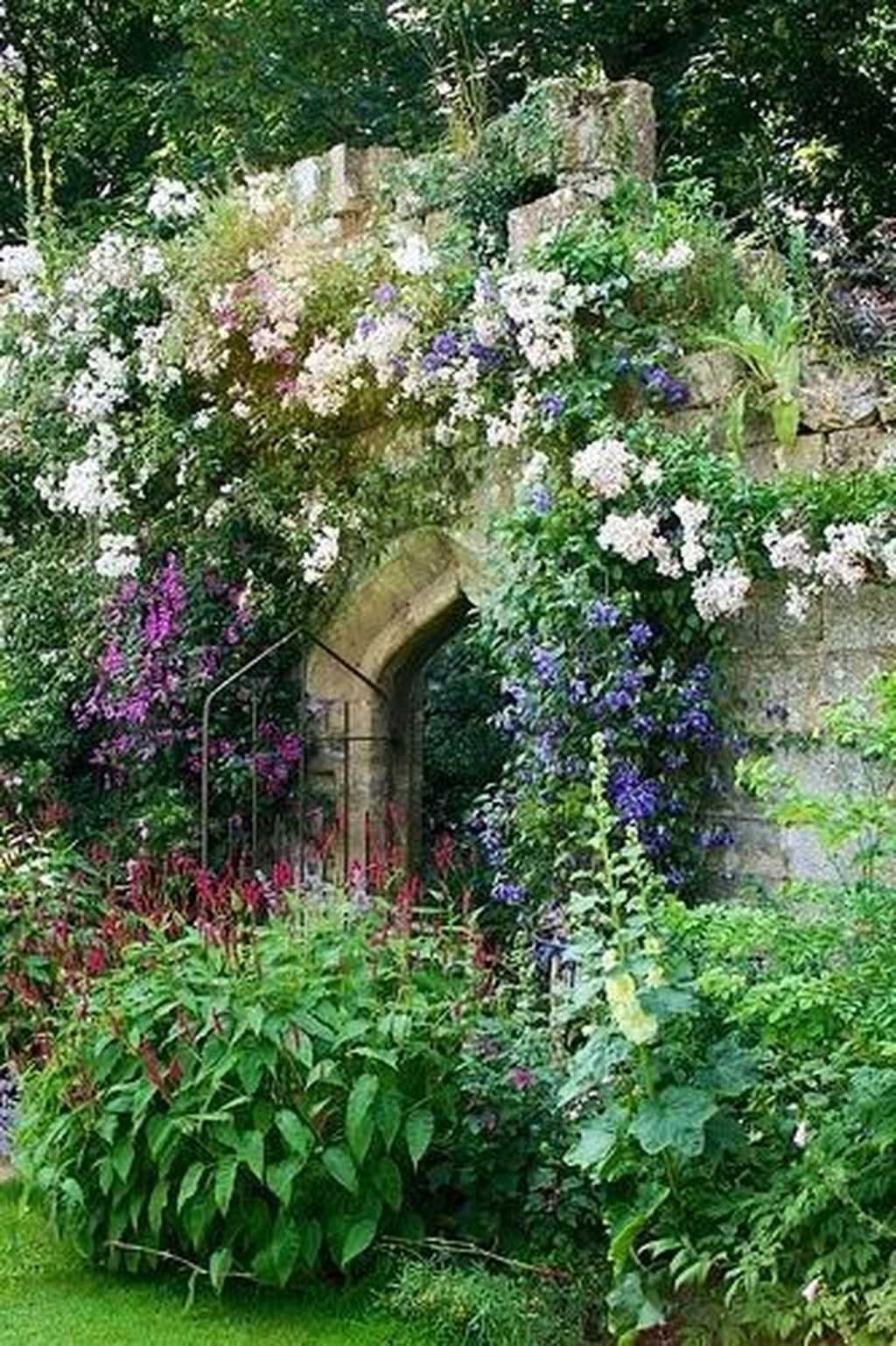 Awesome Cottage Garden Design Ideas For Your Dream House04