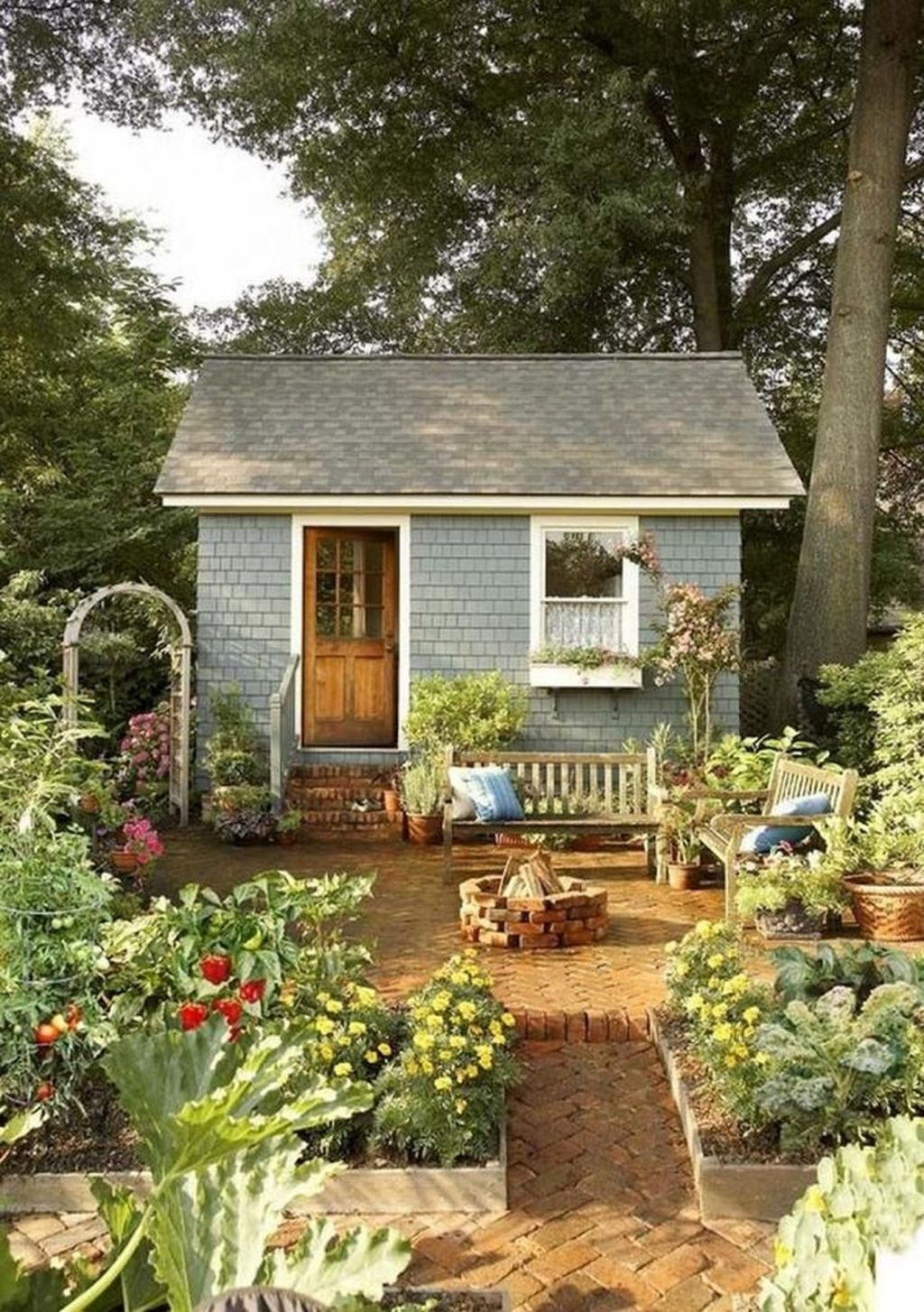 Awesome Cottage Garden Design Ideas For Your Dream House27