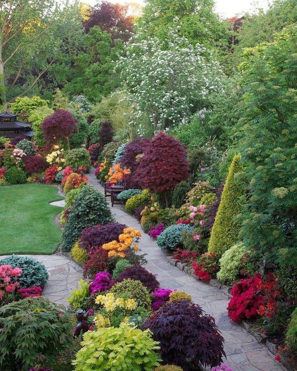 Awesome Cottage Garden Design Ideas For Your Dream House29