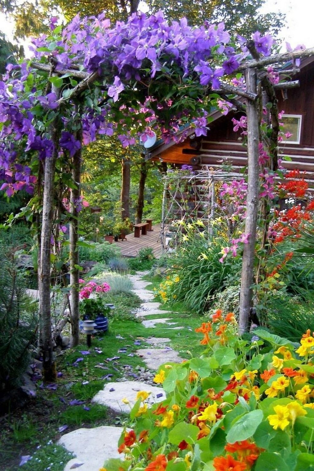 Awesome Cottage Garden Design Ideas For Your Dream House37