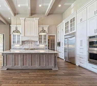 Awesome Farmhouse Kitchen Cabinets Design Ideas18