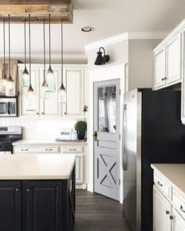 Awesome Farmhouse Kitchen Cabinets Design Ideas19
