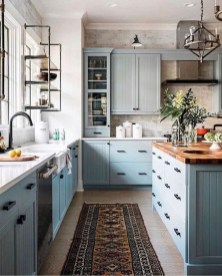 Awesome Farmhouse Kitchen Cabinets Design Ideas30