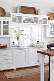 Awesome Farmhouse Kitchen Cabinets Design Ideas37