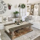 Comfy Farmhouse Living Room Decor And Design Ideas22