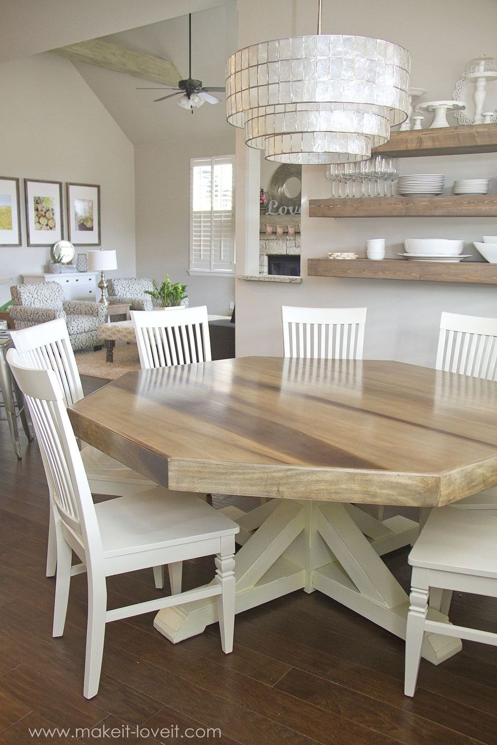 Elegant Farmhouse Dining Room Design Ideas03