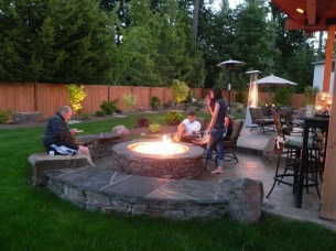 Fascinating Backyard Patio Design And Decor Ideas30