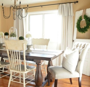 Perfect Farmhouse Dining Room Makeover Ideas05