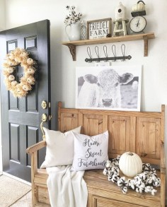 Pretty Farmhuose Entryway Design And Decor Ideas02