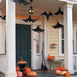 Stunning Diy Outdoor Halloween Decor And Design Ideas05