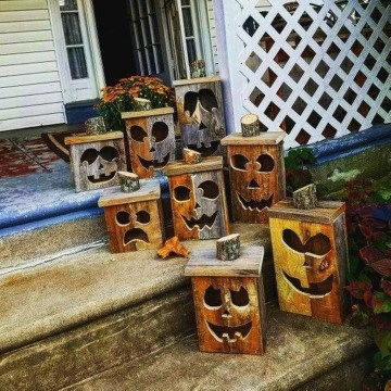 Stunning Diy Outdoor Halloween Decor And Design Ideas19