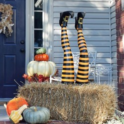 Stunning Diy Outdoor Halloween Decor And Design Ideas33