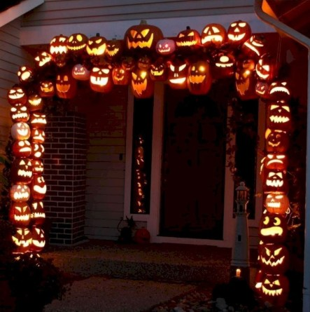 Stunning Diy Outdoor Halloween Decor And Design Ideas38