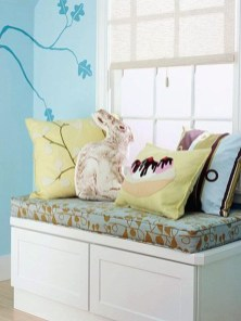 Stunning Window Seat Ideas With Padded Seat And Storage Below14