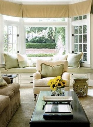 Stunning Window Seat Ideas With Padded Seat And Storage Below41