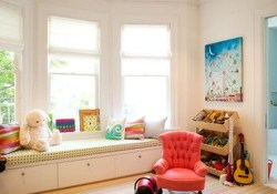 Stunning Window Seat Ideas With Padded Seat And Storage Below43