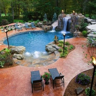 Stylish Backyard Landscaping Ideas For Your Dream House18