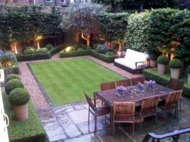 Stylish Backyard Landscaping Ideas For Your Dream House47