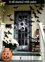 Stylish Wicked Halloween Porch Decorating Ideas On A Budget29