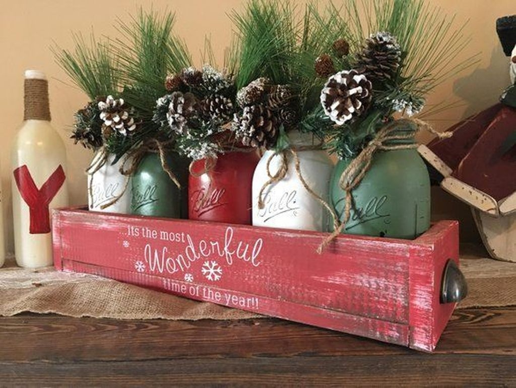 Adorable Christmas Decorations Apartment Ideas07