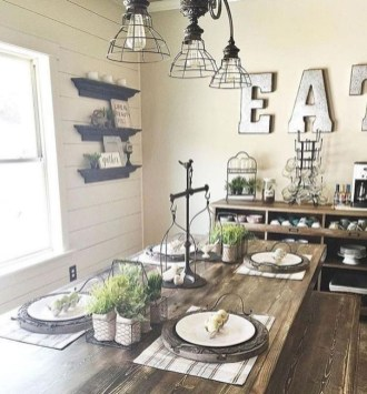Affordable Farmhouse Dining Room Design Ideas13