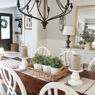 Affordable Farmhouse Dining Room Design Ideas16