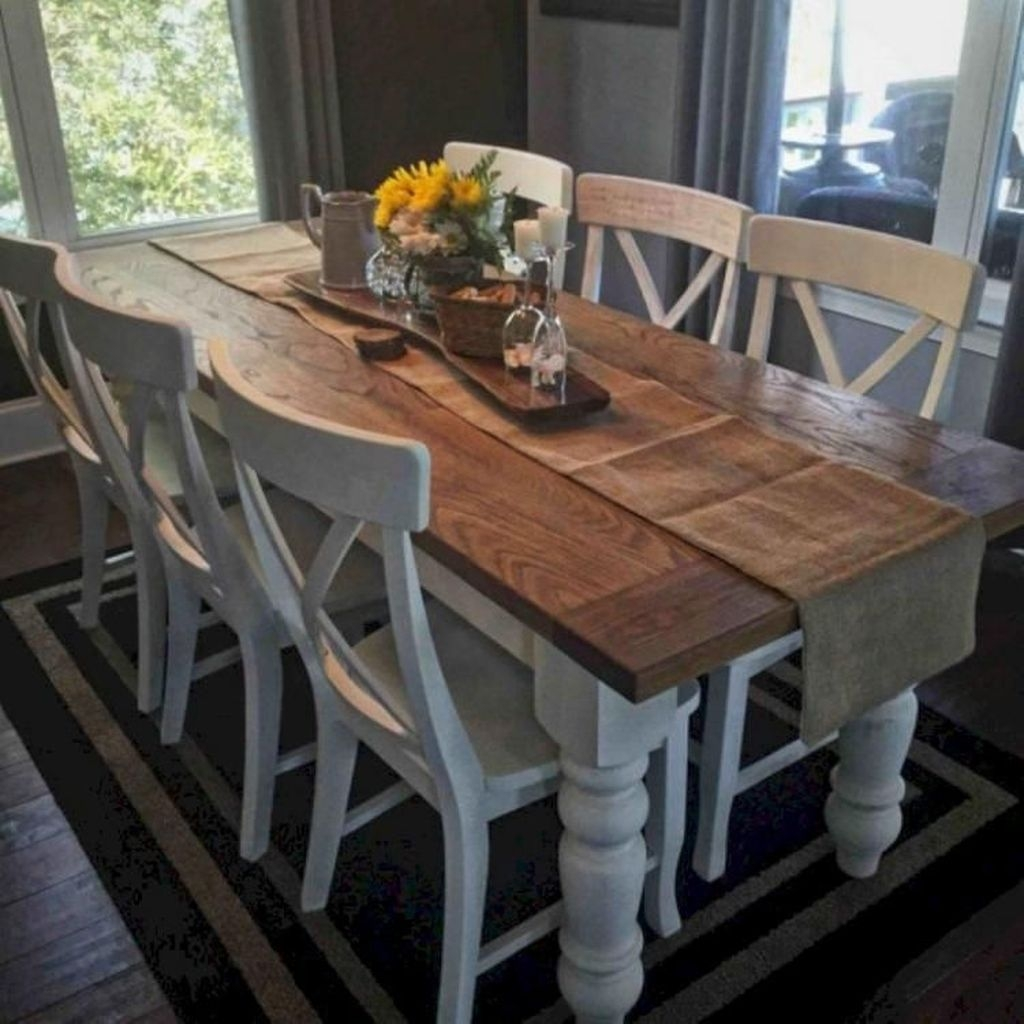 Affordable Farmhouse Dining Room Design Ideas23