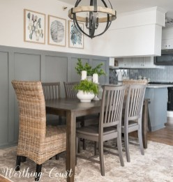 Affordable Farmhouse Dining Room Design Ideas36