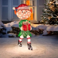 Attractive Front Yard Christmas Decoration Ideas11