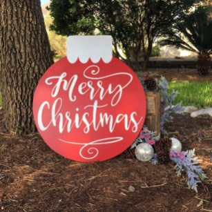 Attractive Front Yard Christmas Decoration Ideas38