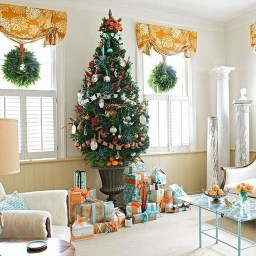 Awesome Vintage Christmas Living Room Decoration Ideas01