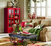 Awesome Vintage Christmas Living Room Decoration Ideas20