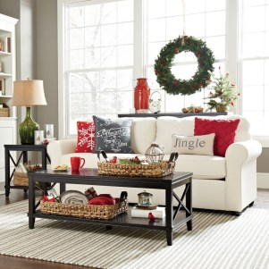 Awesome Vintage Christmas Living Room Decoration Ideas27