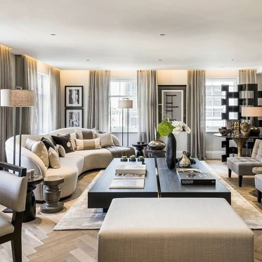 Beautiful Living Room Design Ideas For Luxurious Home20