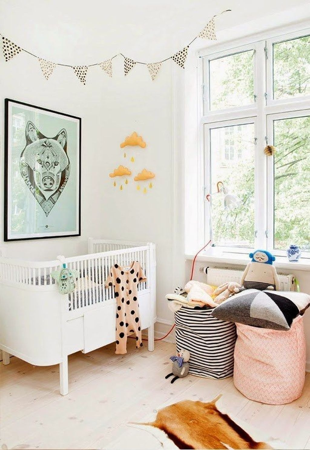 Cheerful Scandinavian Kids Rooms Designs Ideas36