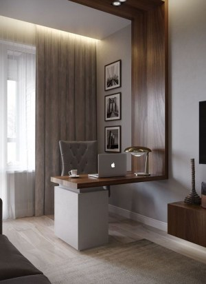 Comfy Home Office Design Ideas For Small Apartment39