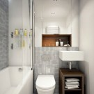 Easy Ideas For Functional Decoration Of Small Bathroom28