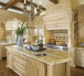 Flawless French Country Style Kitchen Decor Ideas21